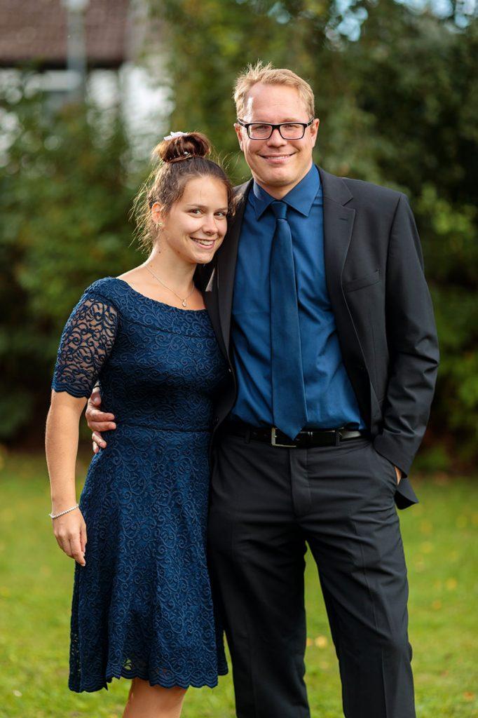 Fotos von den Hochzeitsgästen während der Hochzeitsfeier auf dem Landgut Stober