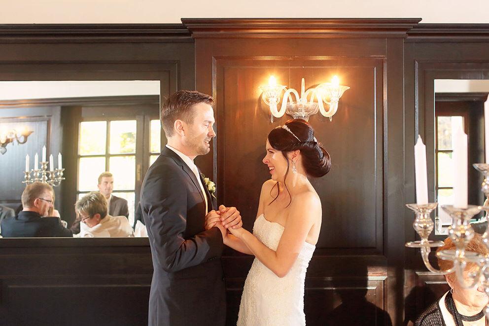 Die Eröffnungsrede des Brautpaares war höchst emotional