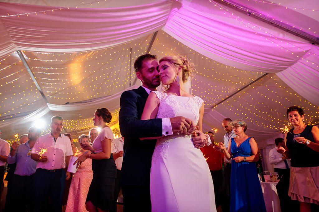 Hochzeitstanz des Brautpaares