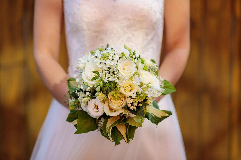 Der wunderschöne Brautstrauß