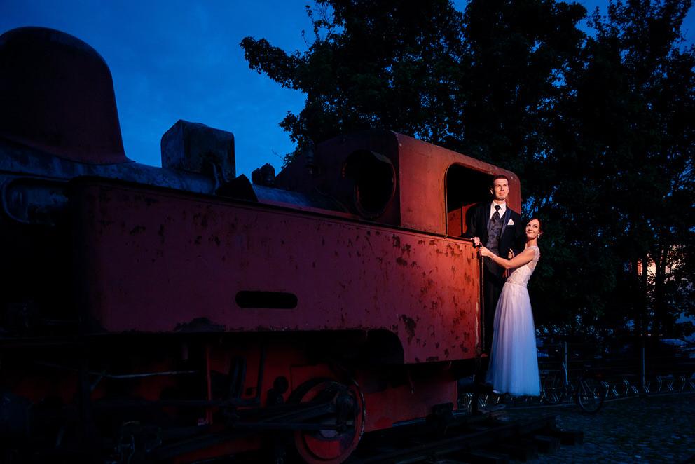 Das Gelände vom Landgut Stober bietet viele Möglichkeiten für Hochzeitsfotos