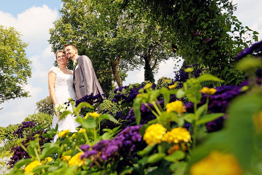 Hochzeitsfotos nach der Trauung im Park Babelsberg
