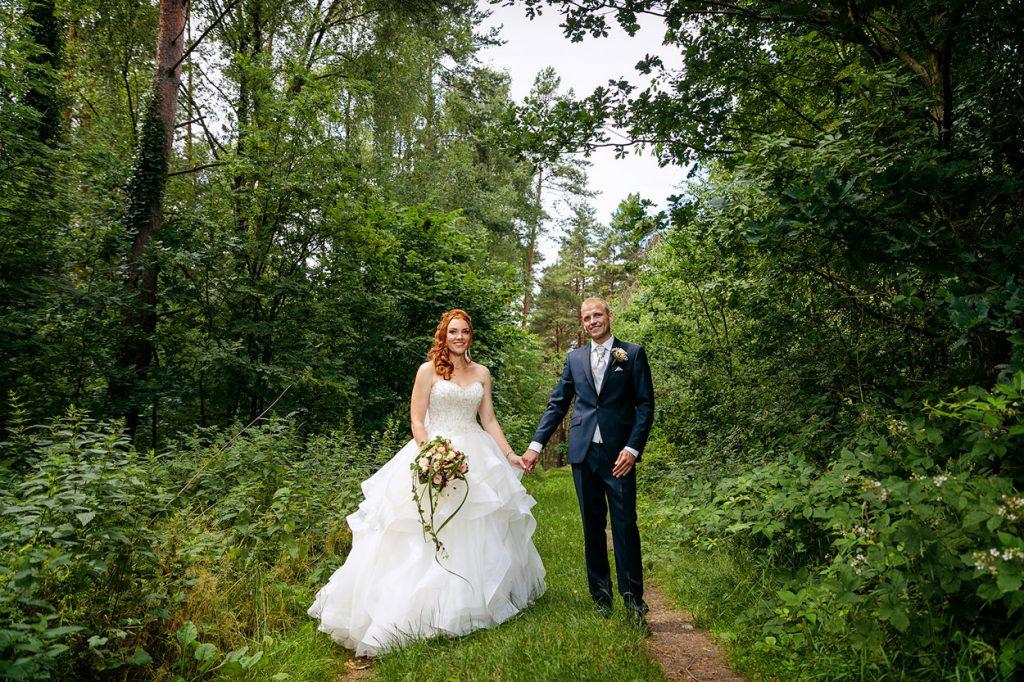 Hochzeitsfotos nach der Trauung