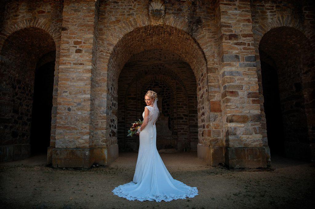 Hochzeitsfotos nach der Trauung auf Schloss Neschwitz in Sachsen