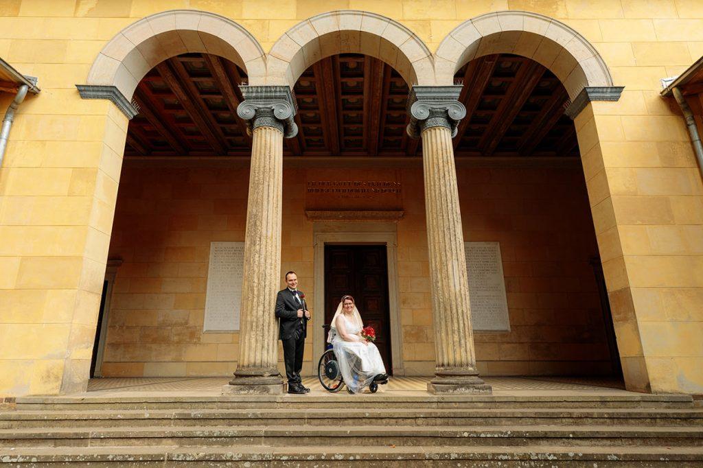 Hochzeitsfotos in der Friedenskirche Potsdam