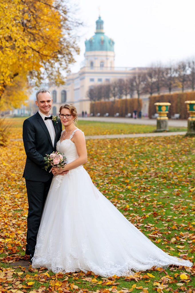 Hochzeitsfotos im Schlosspark Berlin Charlottenburg