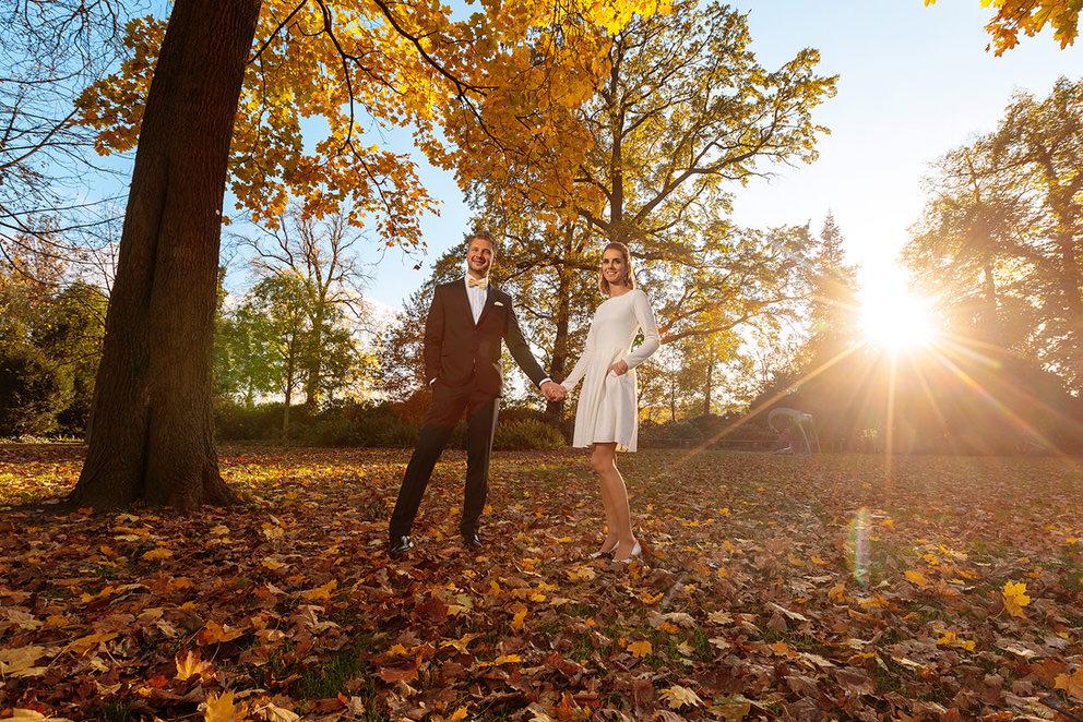 Hochzeit im Herbst in Berlin