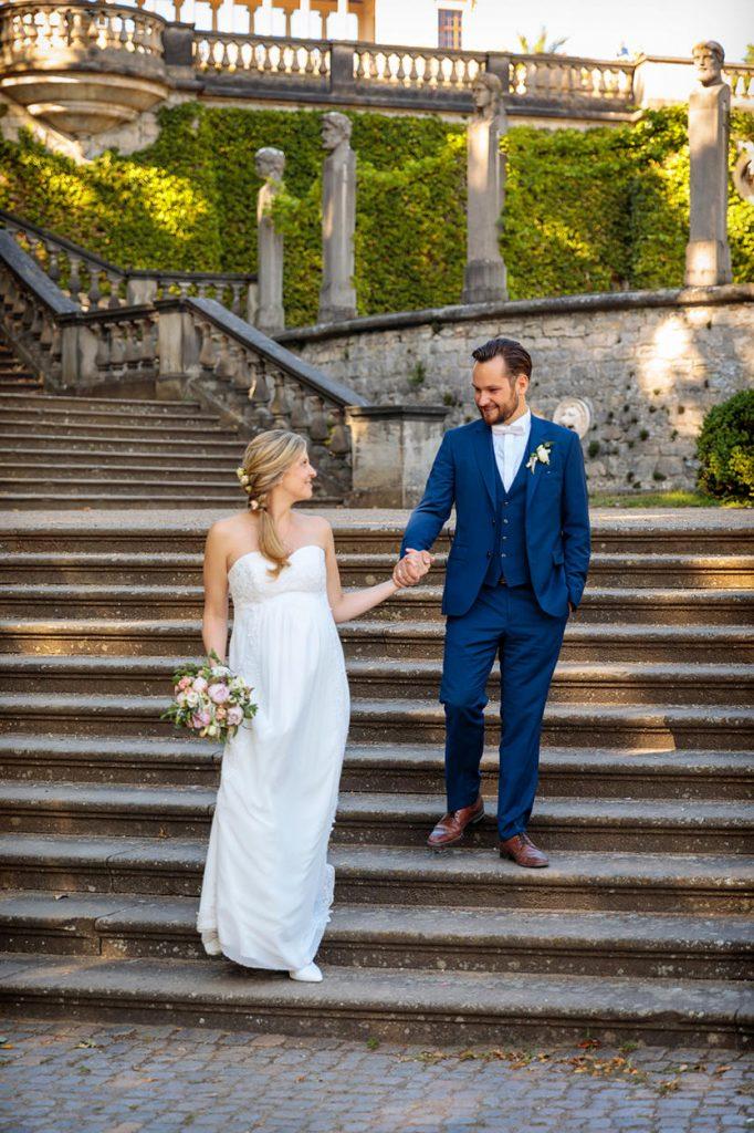 Hochzeitsfotos im Park Sanssouci