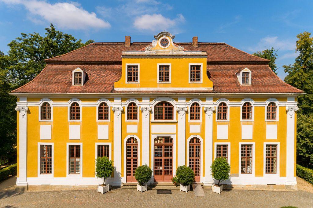Barockschloss Neschwitz in Saschen, Ort der Trauung