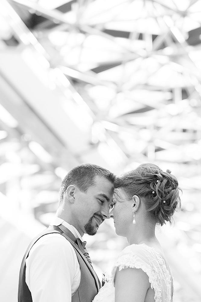 Hochzeitsfotos im Flughafen Berlin Tegel