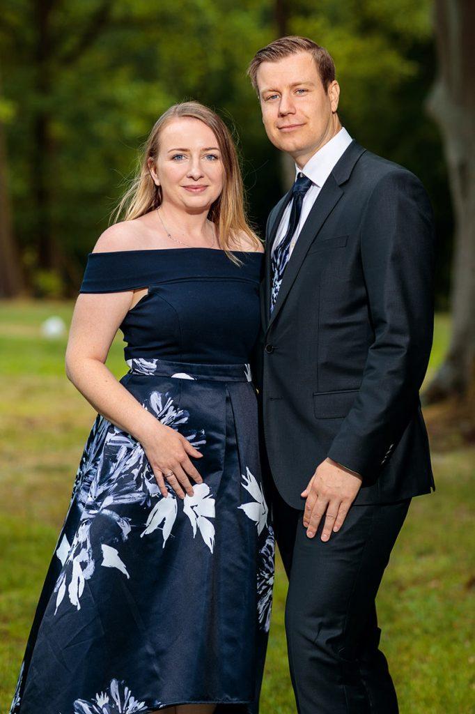 Fotos der Hochzeitsgäste am Nachmittag auf dem Landgut Gühlen bei Neuruppin
