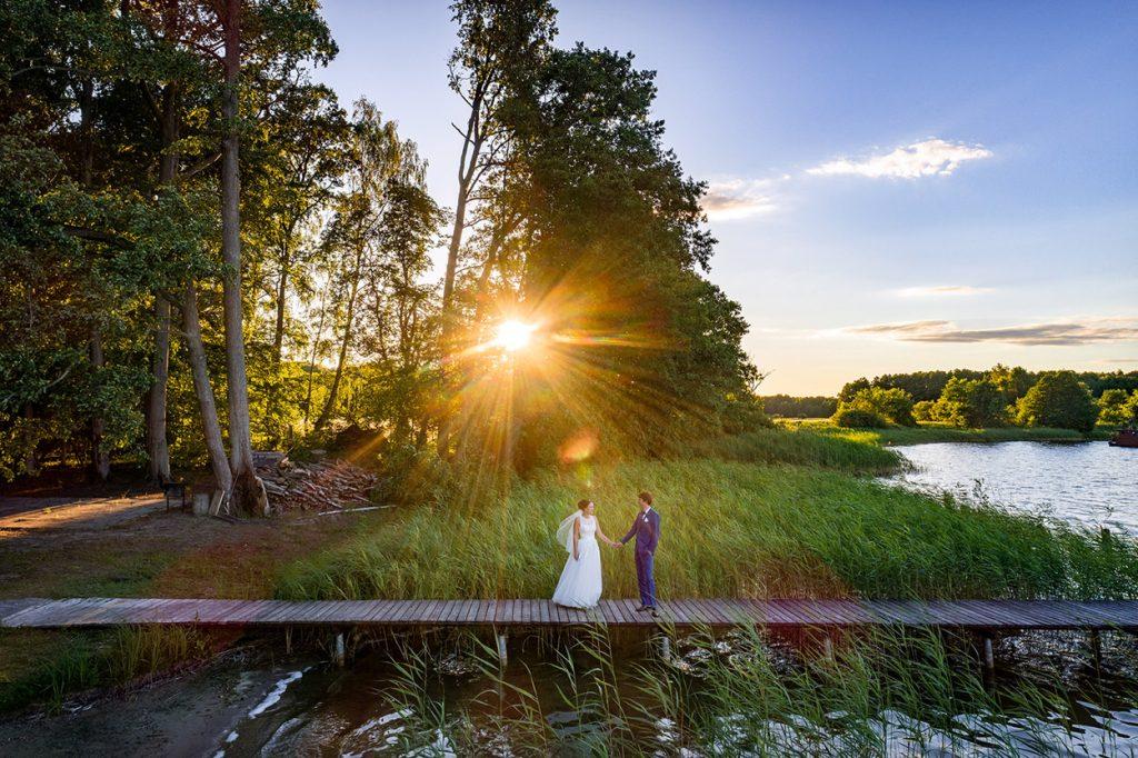 Für unsere Fotos zum Sonnenuntergang zog es uns erneut ans Wasser