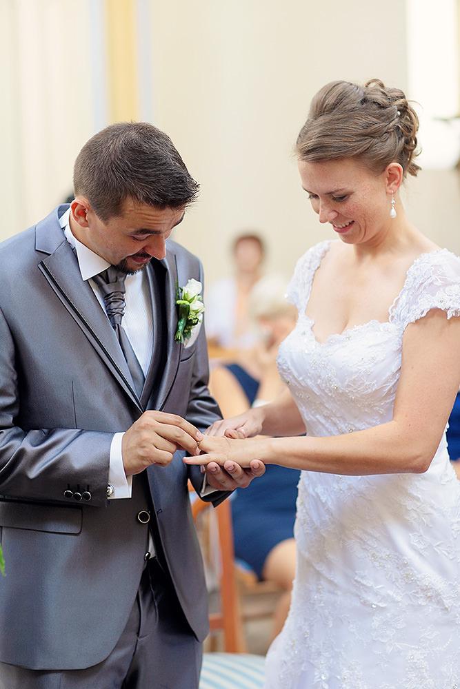 Der Tausch der Eheringe