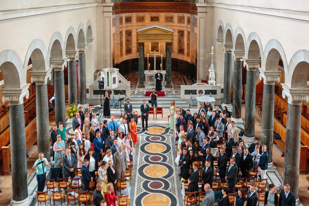 Trauung in der Friedenskirche Potsdam