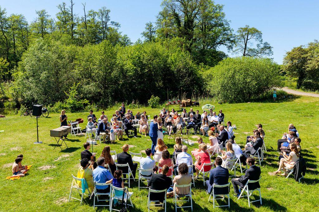 Eine Freie Trauung im Schlosspark von Petzow
