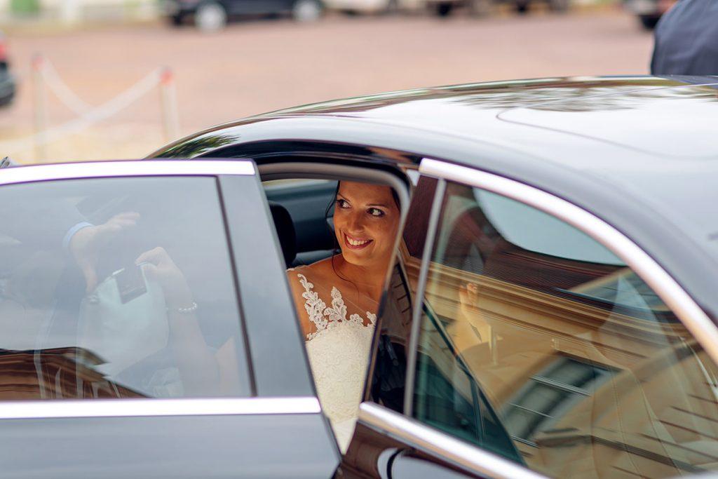 Ankunft der Braut am Schloss Reckahn Kloster Lehnin