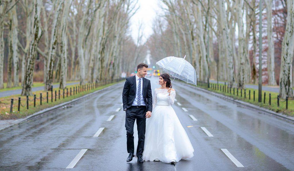 Hochzeitsreportage im Treptower Park Berlin