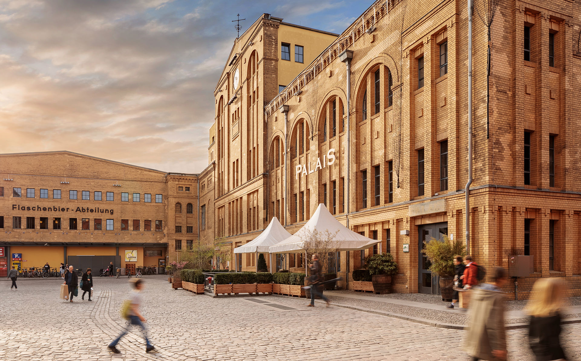 Immobilienfotograf Berlin Architektur Kulturbrauerei