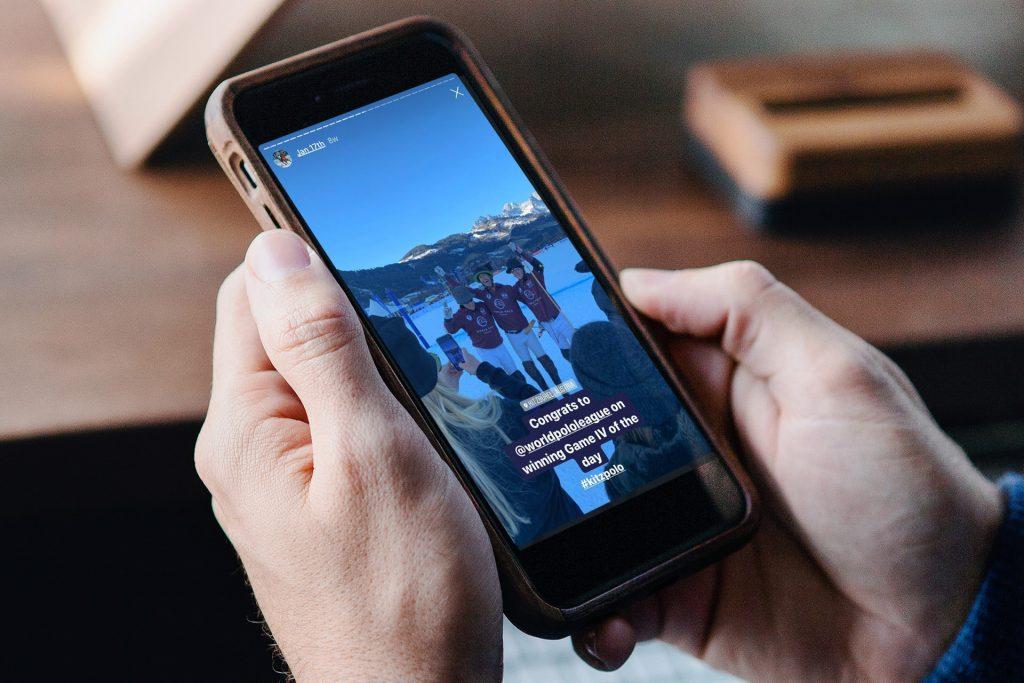 Social-Media-Fotografie mit Handys und anschließende Veröffentlichung auf Instagram, Linkedin oder Facebook