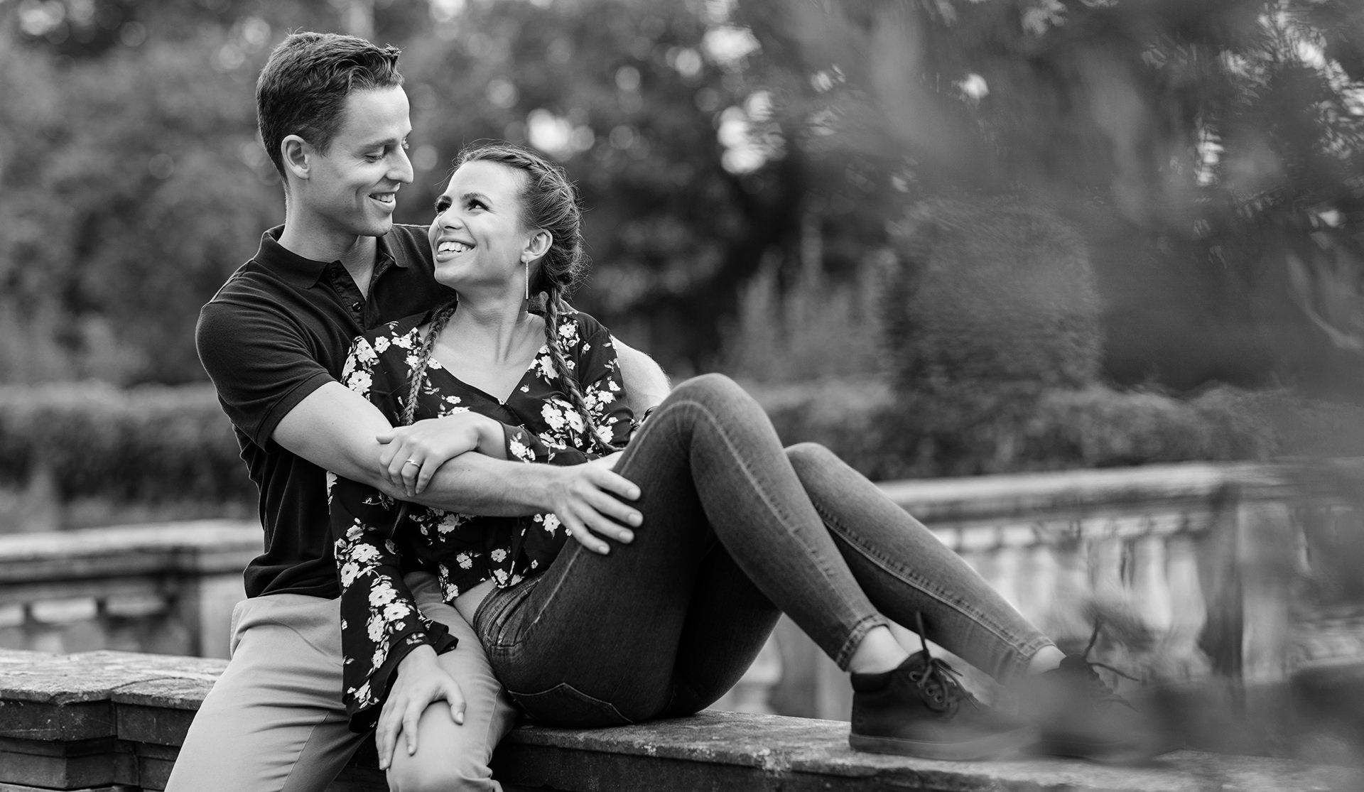 Fotos der Verlobung in Potsdam