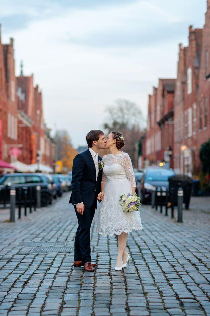 Brautpaar im Holländischen Viertel Potsdam