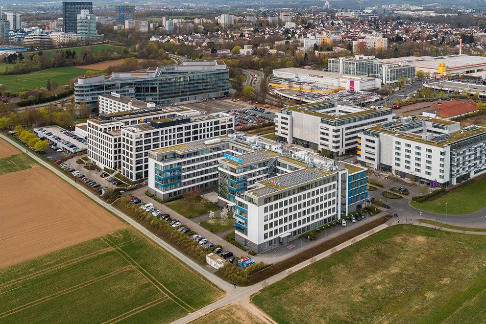 Drohnenfoto in Eschheim von Fotograf mit Multikopter