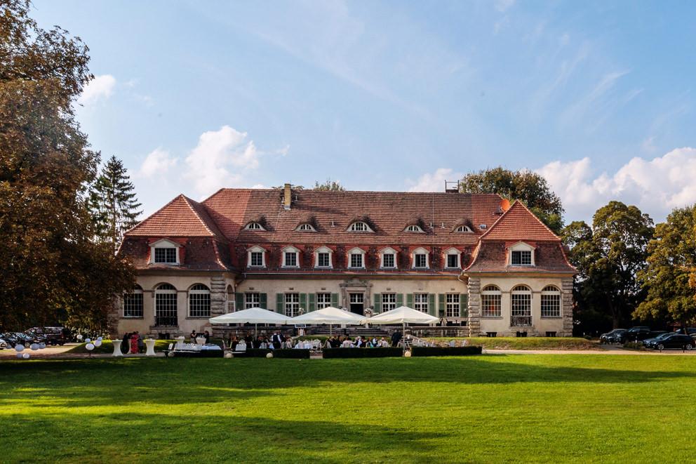 Hochzeitsfeier auf Schloss Kartzow bei Potsdam