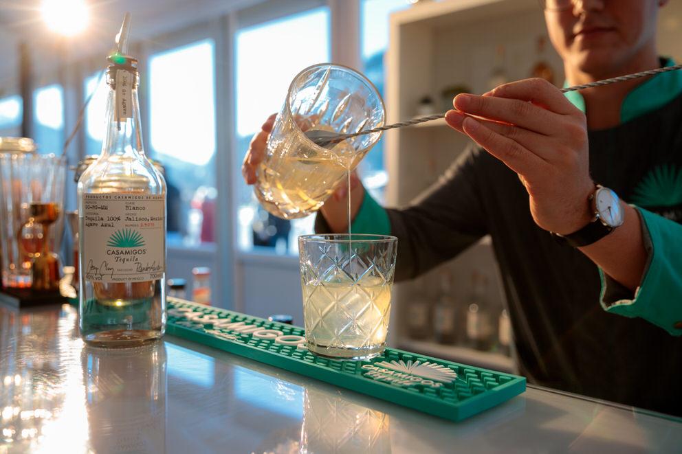 Casamigos sorgt für leckere Drinks beim Snow Polo World Cup Kitzbühel