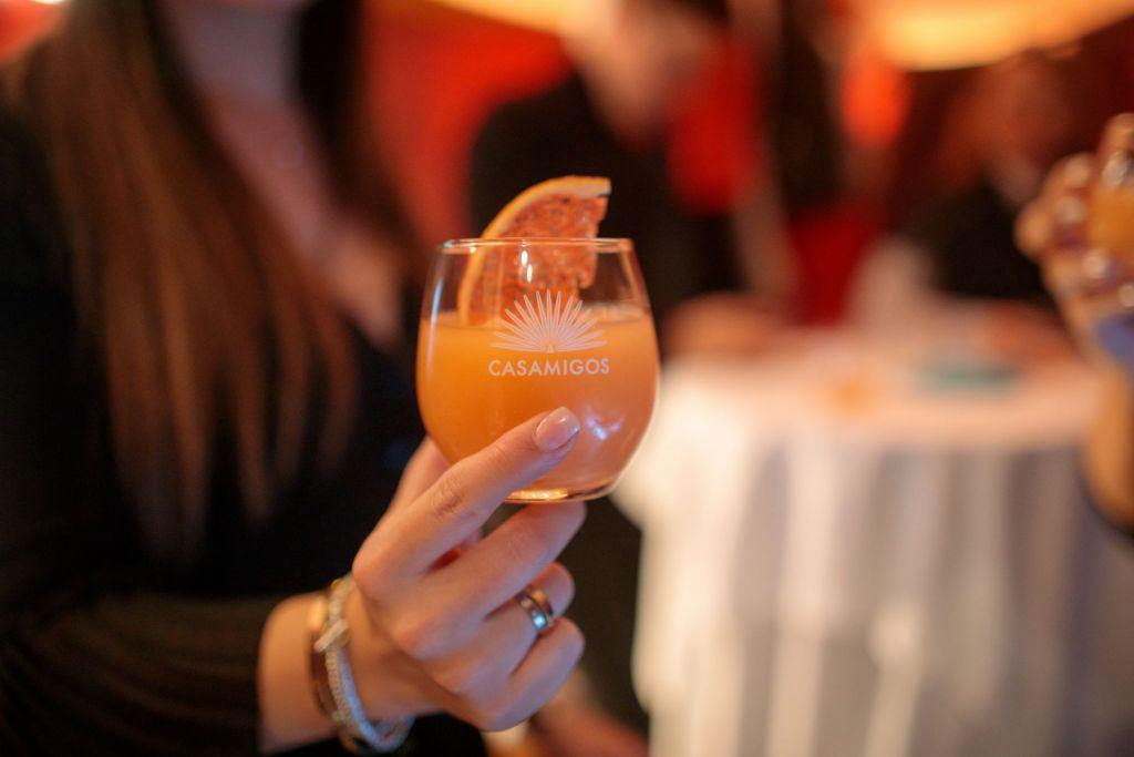 Casamigos sorgte für leckere Drinks am Abend