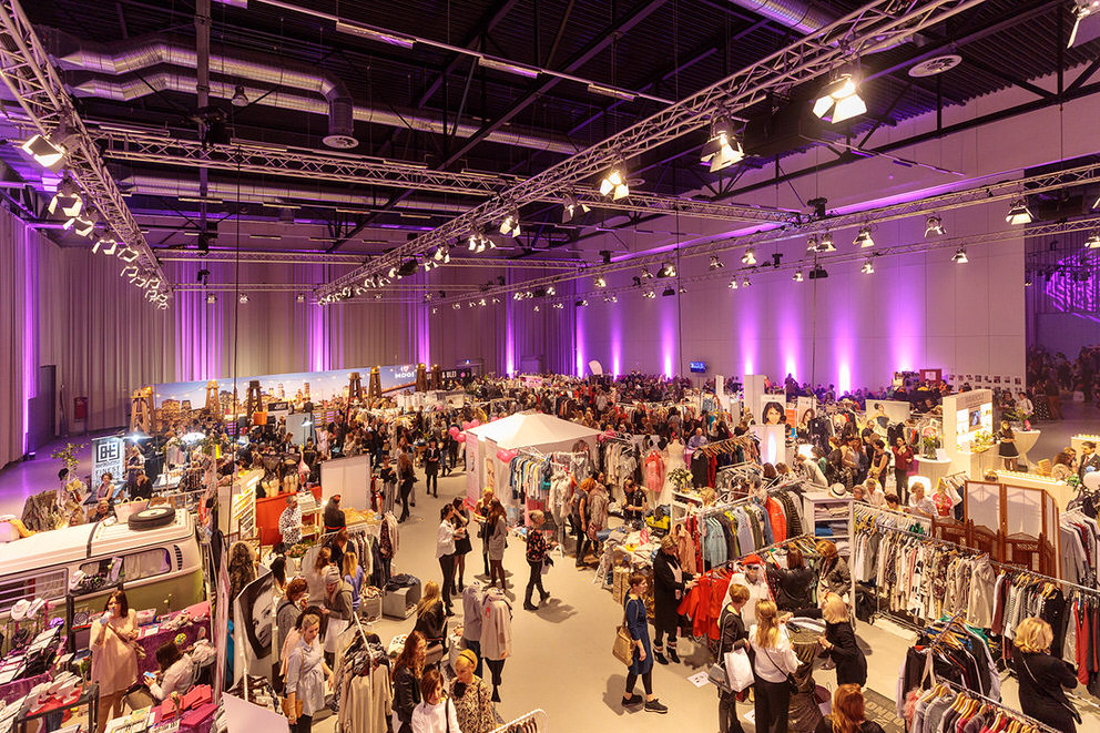 Blick in die Metropolishalle Potsdam bei der Ladies Fashion Night