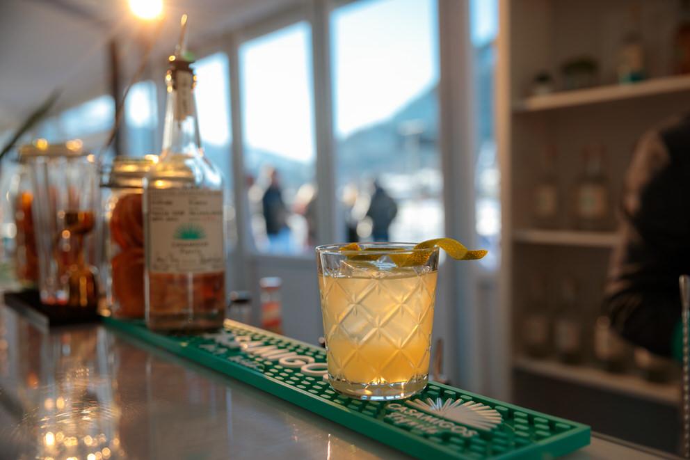 Hier wurde ein Casamigos Cocktail bei einem Event fotografiert