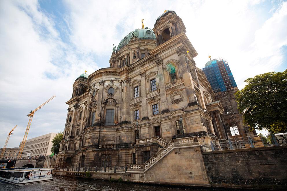 Foto vom Berliner Dom am Tag