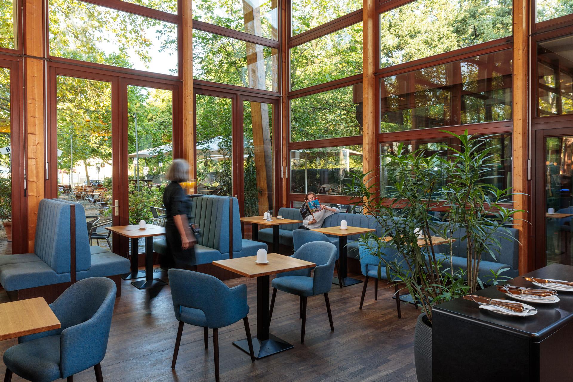 Innenaufnahmen von einem Berliner Restaurant