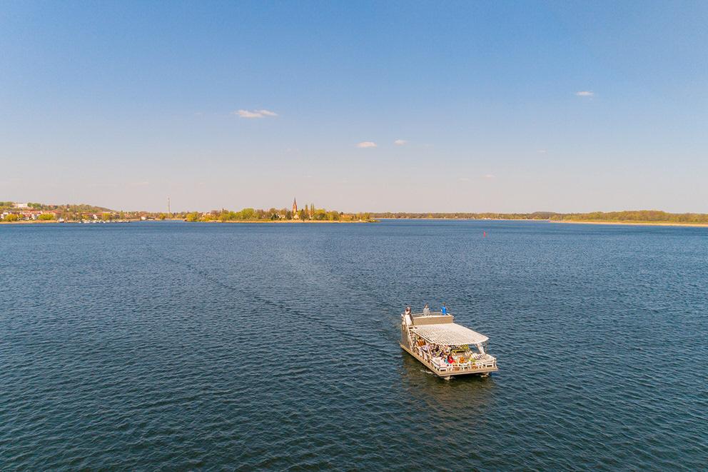 Bootsfahrt durch die Potsdamer Seenlandschaft