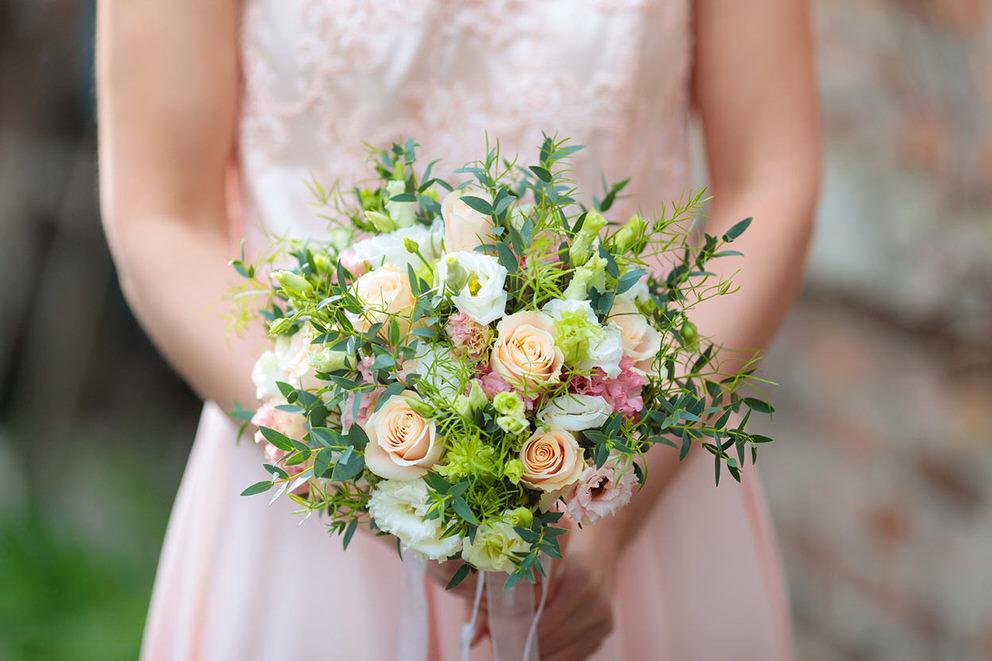 Brautstrauss wie eine Blumenwiese