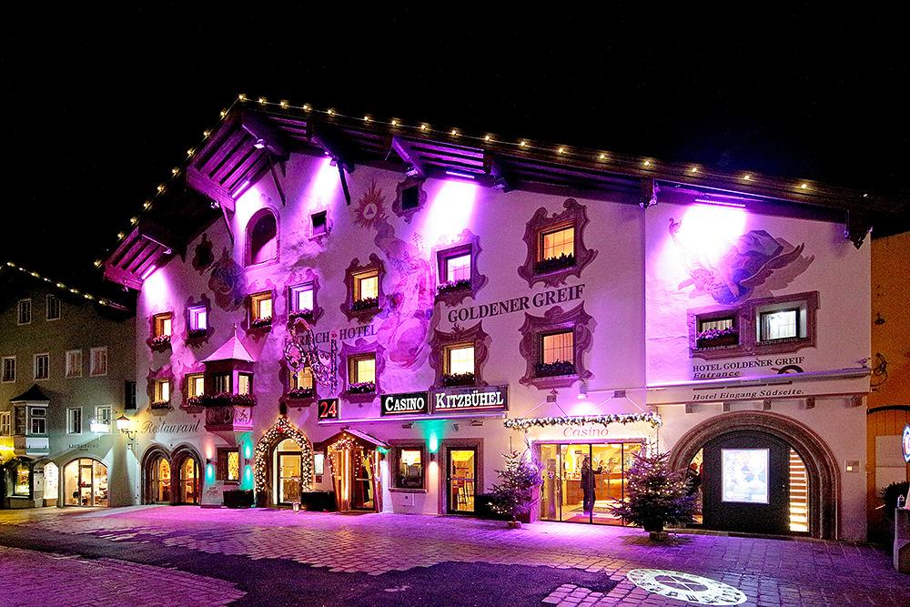 Casino Kitzbuehel by night