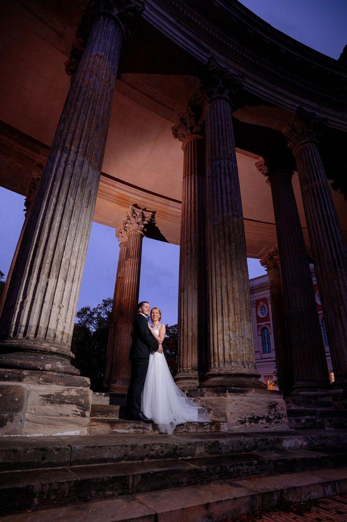 Tagesbegleitung bei einer Hochzeit im Corona Jahr
