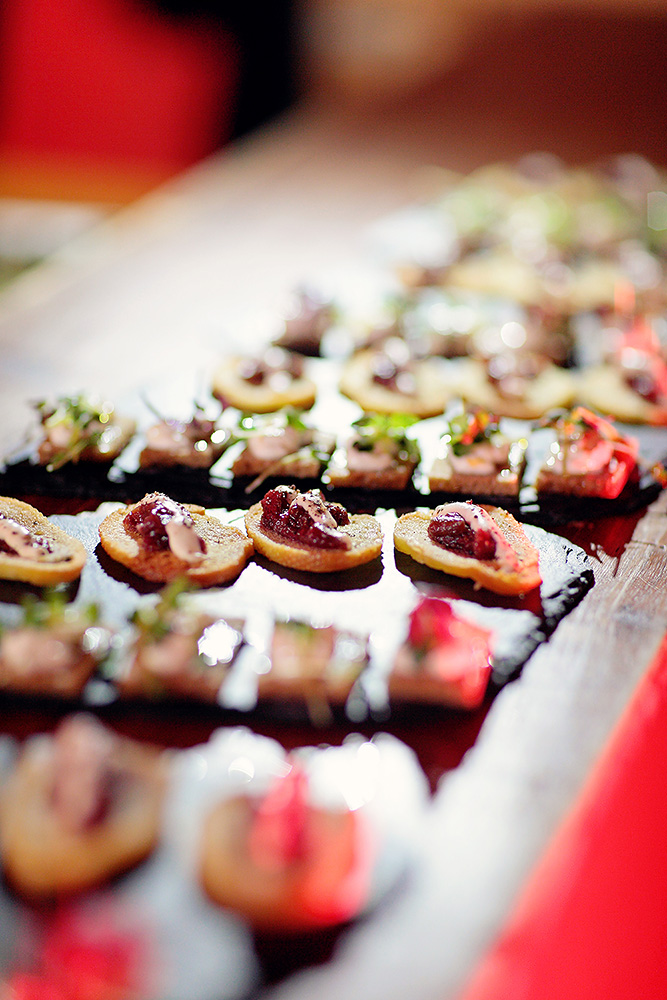 Delicious food at the Polo Gala Night