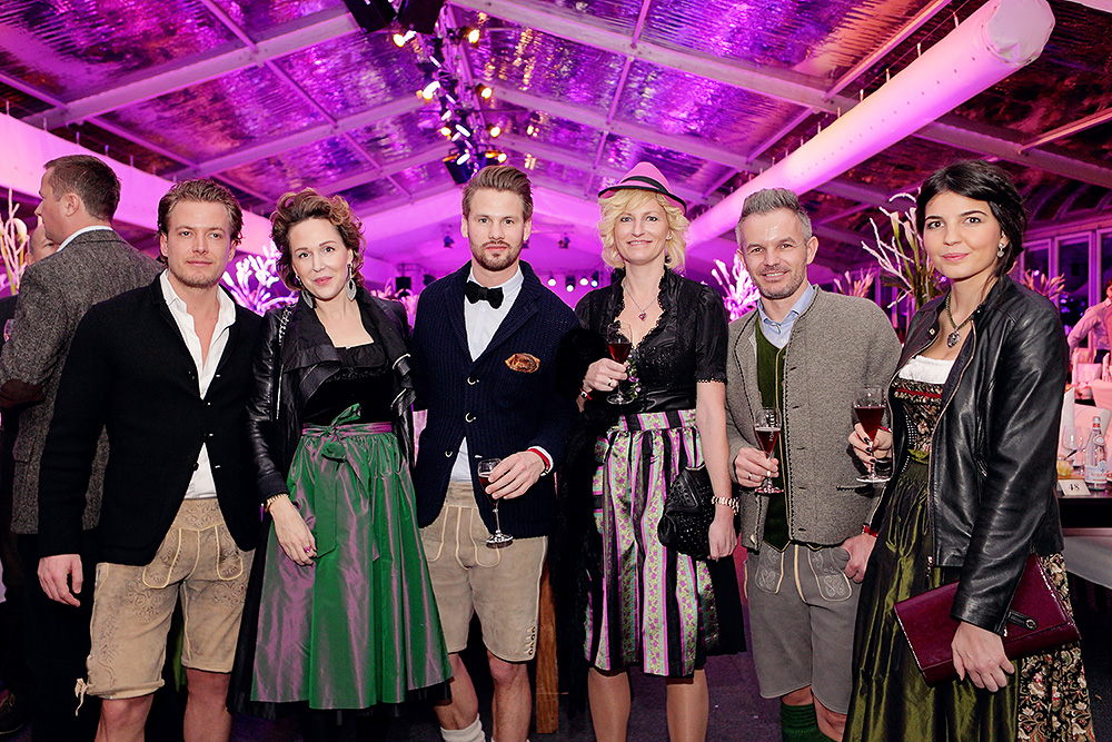 A group of guests during the Gala Night