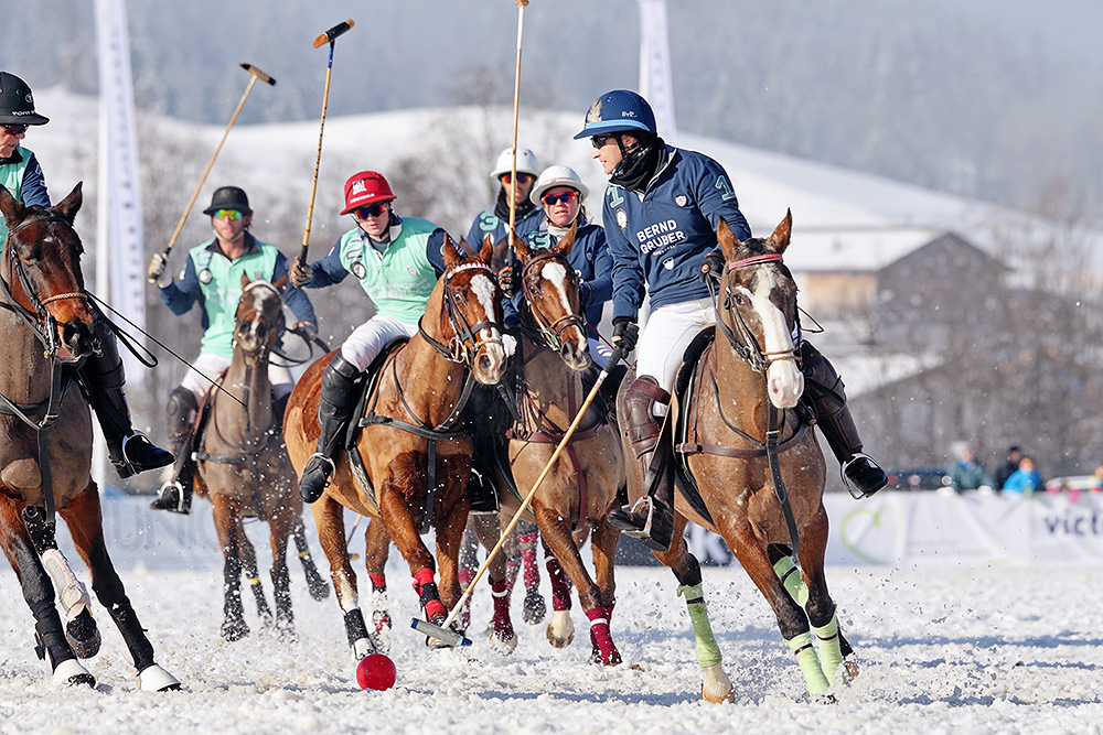 Final match day at Snow Polo World Cup in Kitzbühel