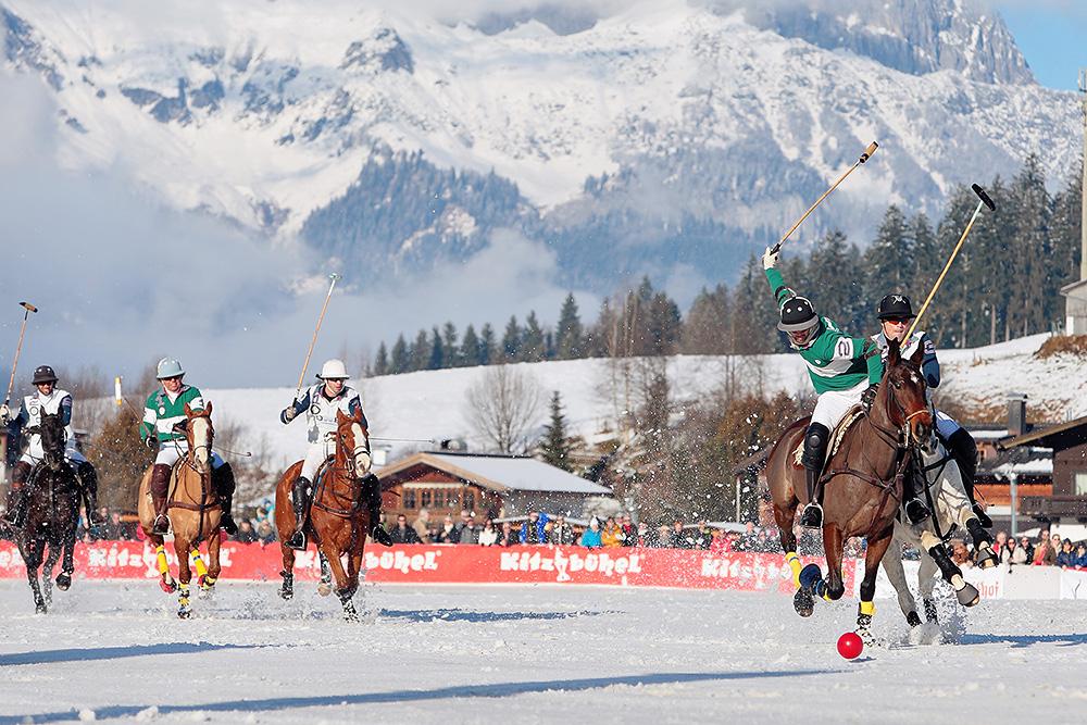 Finaler Spieltag beim Snow Polo World Cup in Kitzbühel