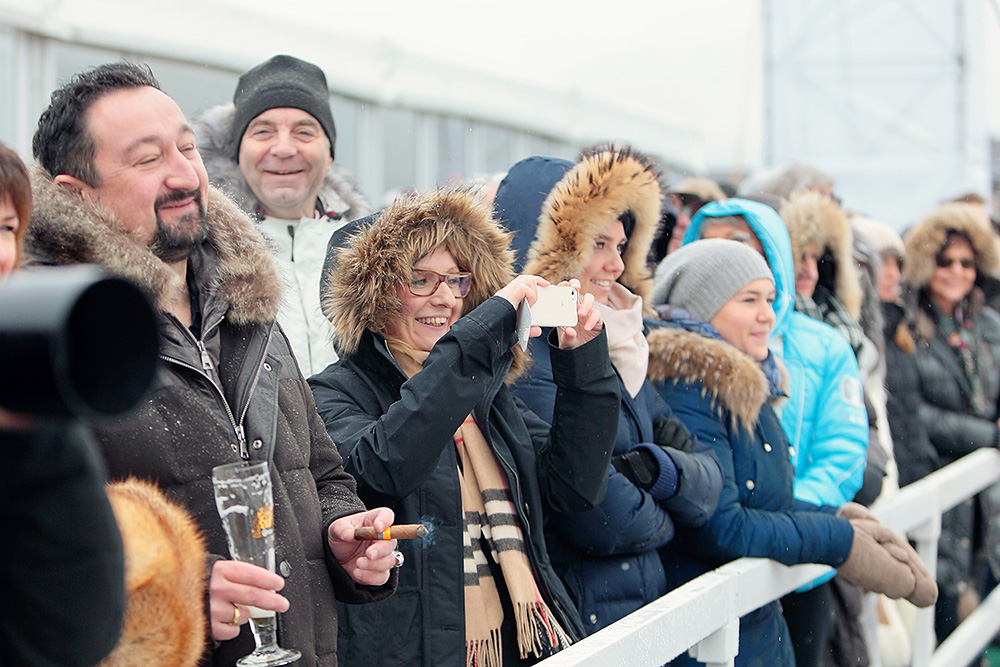 Polo guests during the match