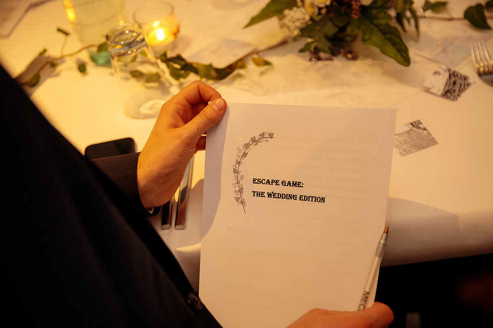 Ein Escape Game für die Hochzeit