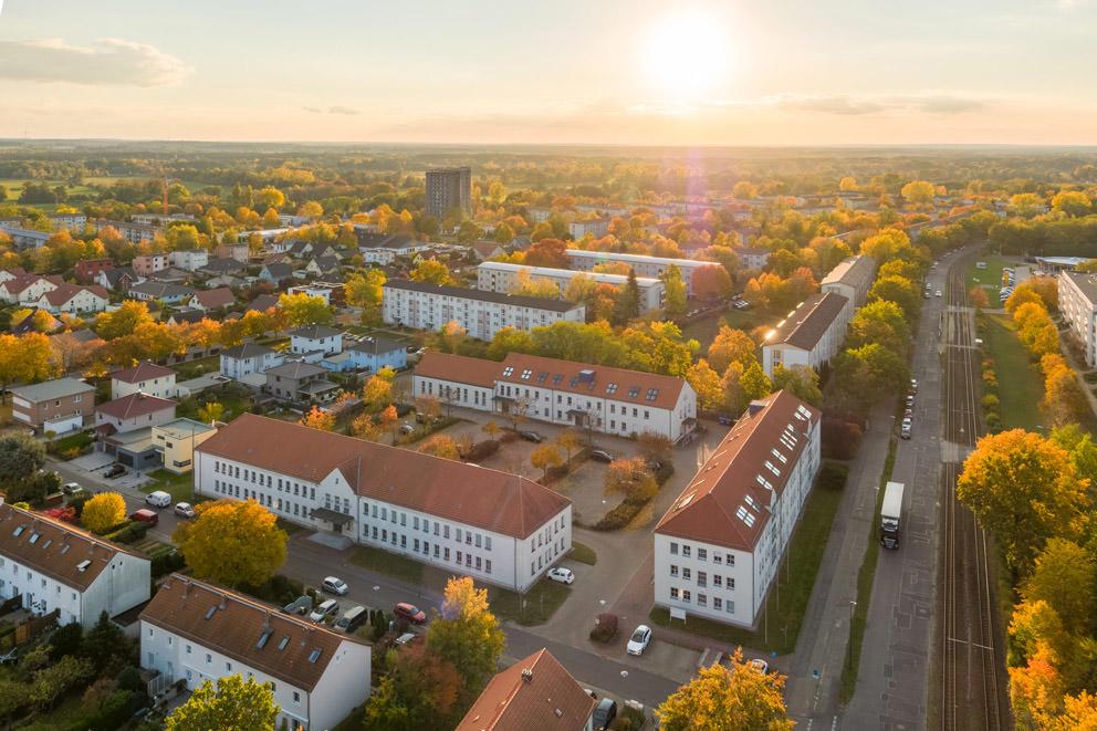 Luftbild für eine Behörde in Cottbus