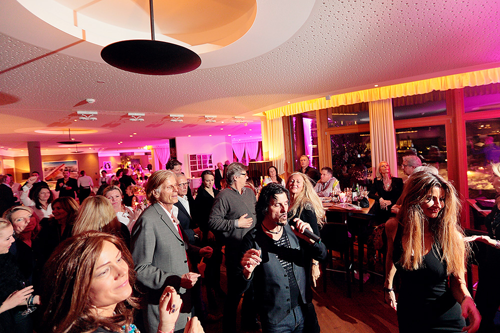 Party time at Kitzbühel Country Club