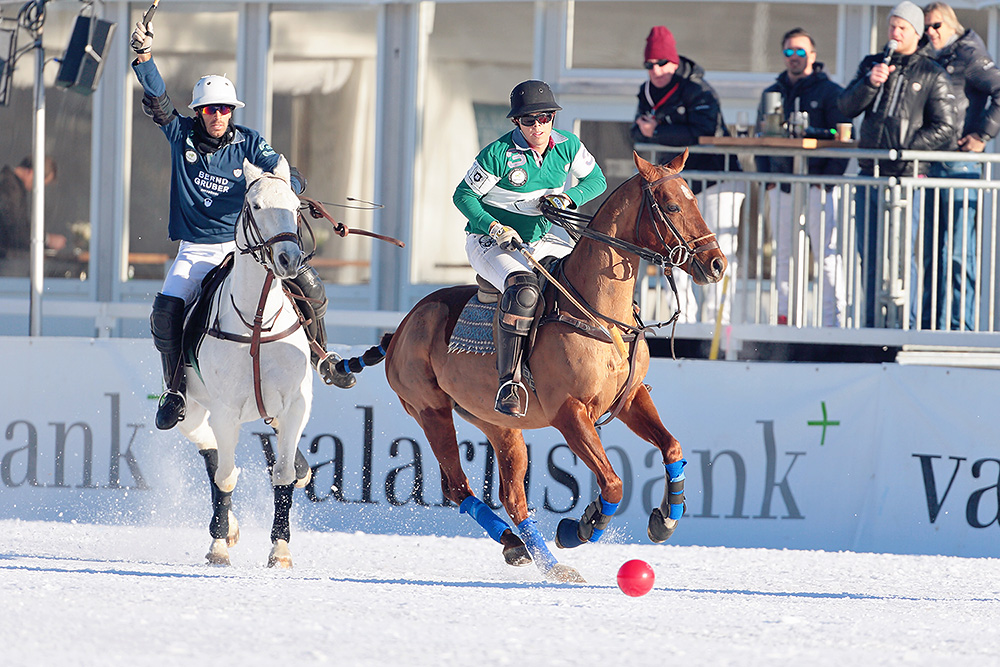 Polo game is on in Kitzbuehel