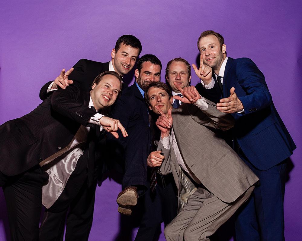 Gruppenfoto mit Fotobox