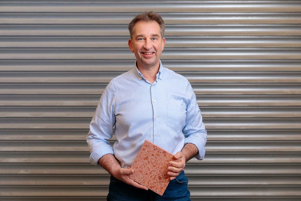 Portrait vom Geschäftsführer einer Baufirma