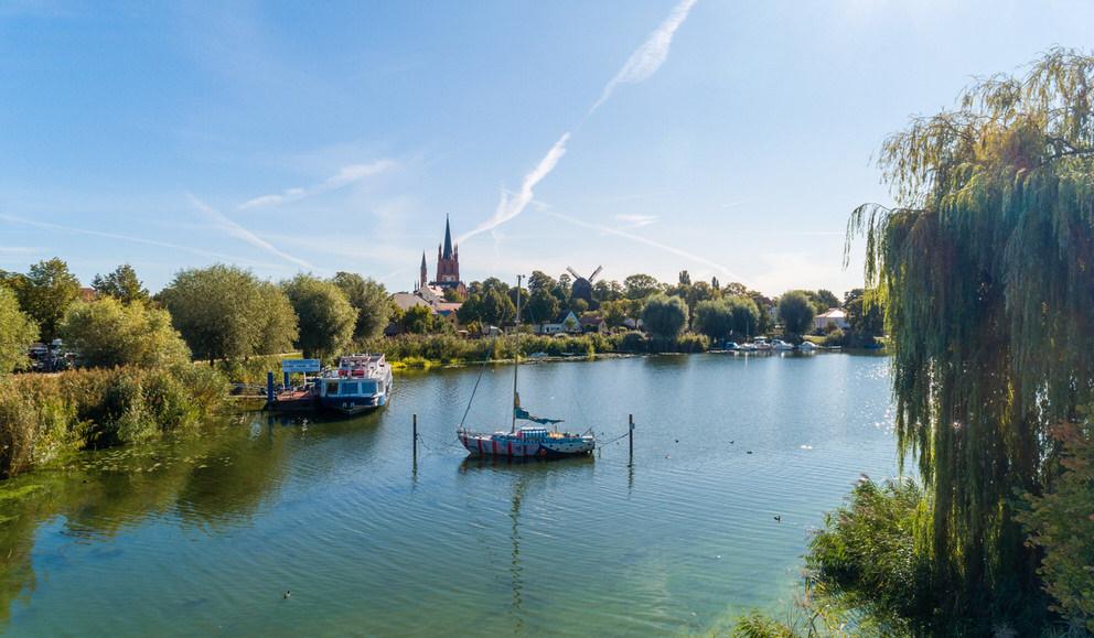 Blick auf die Insel Werder
