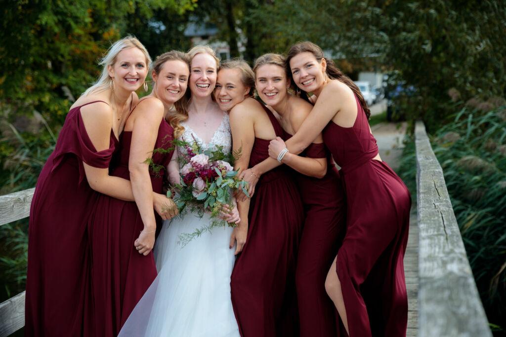 Hochzeitsfotos im September in Caputh